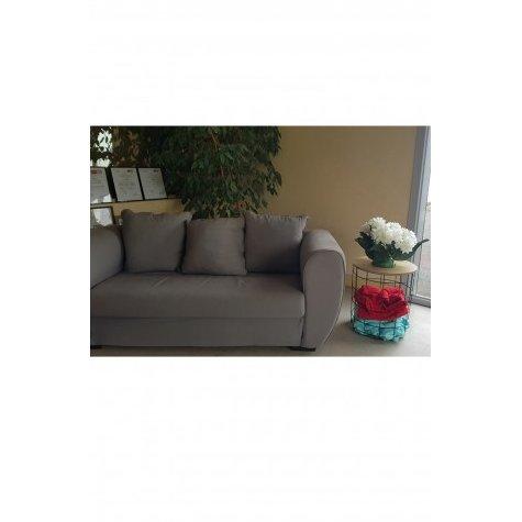 Bout de canapé / Range plaid