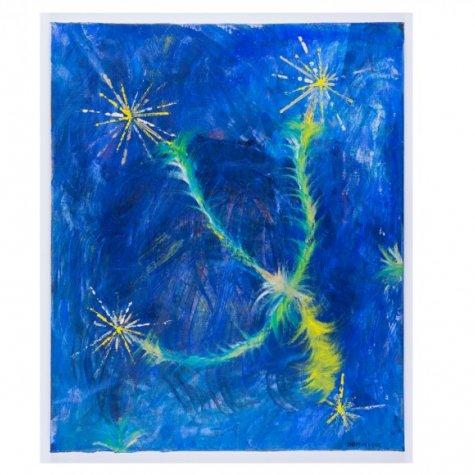 Lithographie original signée et numérotée - Eclats de soleil - 60x54 cm