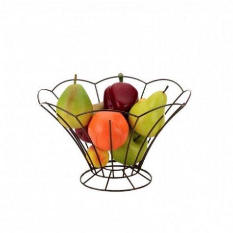"""Lot Corbeille à Fruits """"La Florale"""" en Métal 2+1 à 50%"""