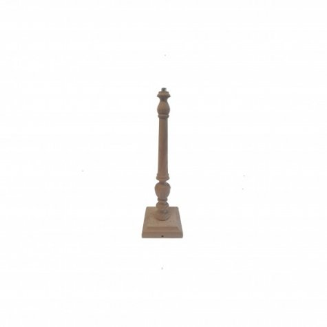 "Pied de lampe en bois ""Syracuse"" 33 cm"