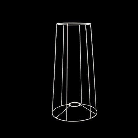 Carcasse abat-jour - Carcasse tube - Pour pied de lampe