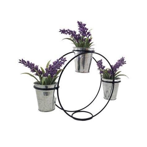 Décoration d'intérieur  plante artificielle LAVANDE (pots fournis)